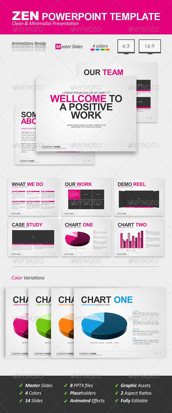 Graphic River Zen Powerpoint Template Presentation Templates -  Powerpoint Templates 726452