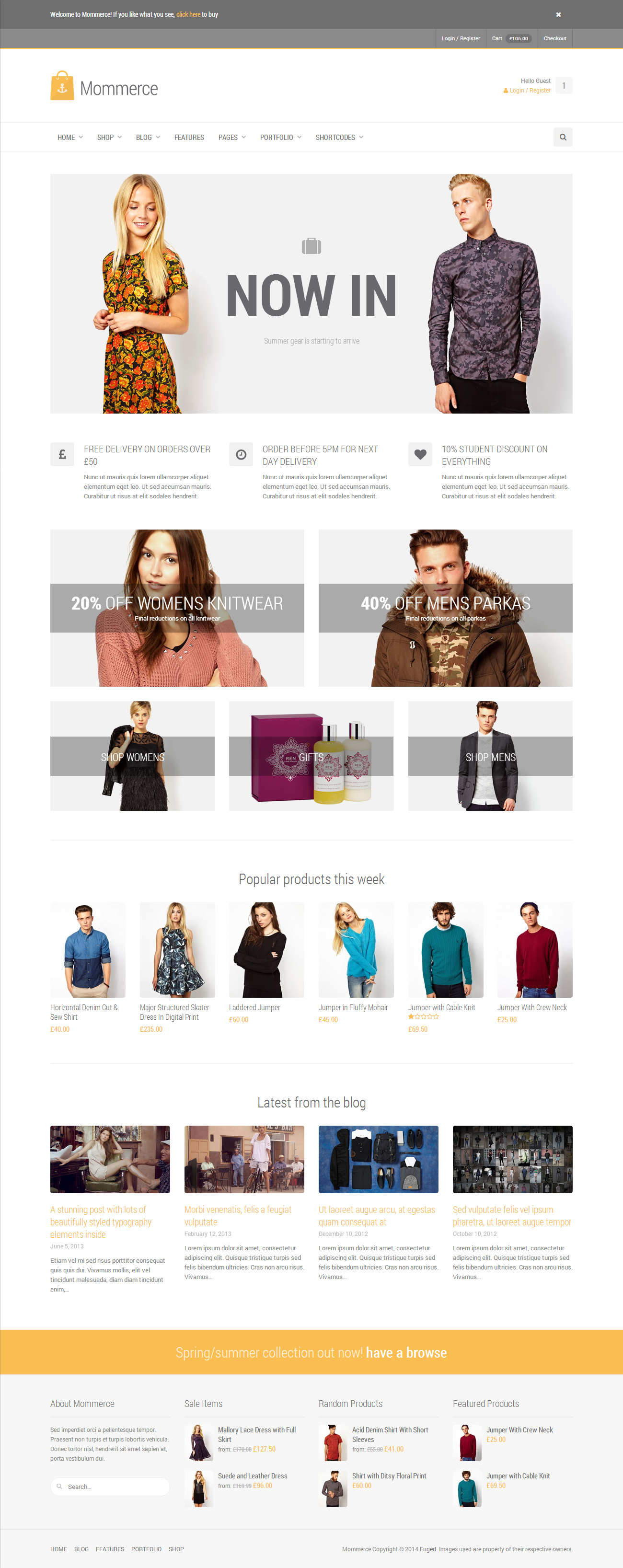 Mommerce - Modern Multi-Purpose WooCommerce Theme