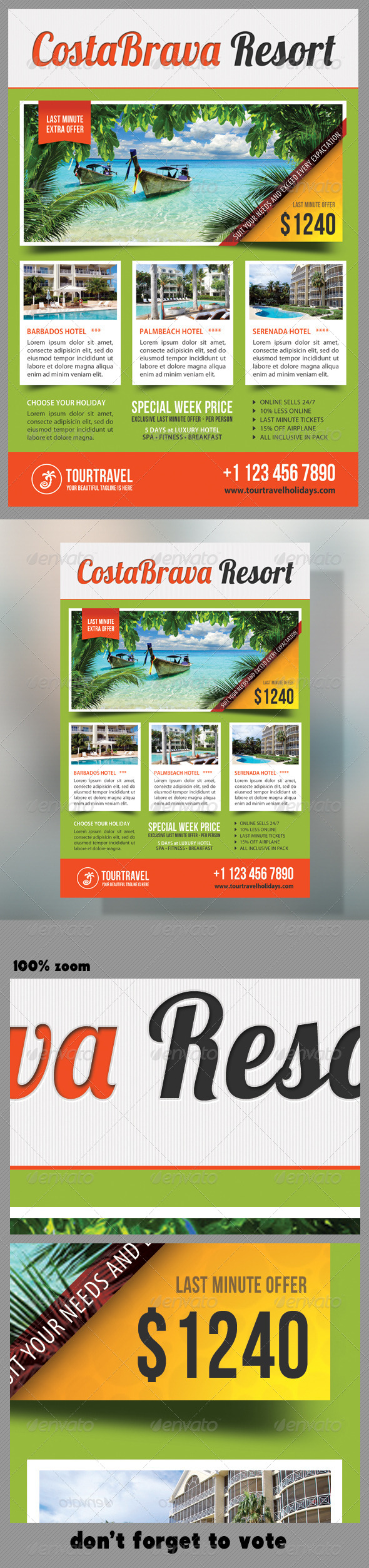 Travel Agency Corporate Flyer 07 - Holidays Events