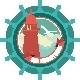 Lighthouse Emblem - GraphicRiver Item for Sale