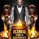 King for a Birthday Flyer - GraphicRiver Item for Sale