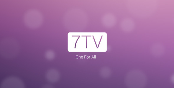 7TV Broadcast Package Channel Identity