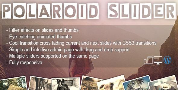 Polaroid Slider - A fun & unique WP slider Plugin - CodeCanyon Item for Sale