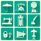 Set Of  Vintage Objects Icons - GraphicRiver Item for Sale