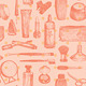 Cosmetics and Beauty Seamless Pattern - GraphicRiver Item for Sale