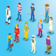 Isometric Professions Part One - GraphicRiver Item for Sale
