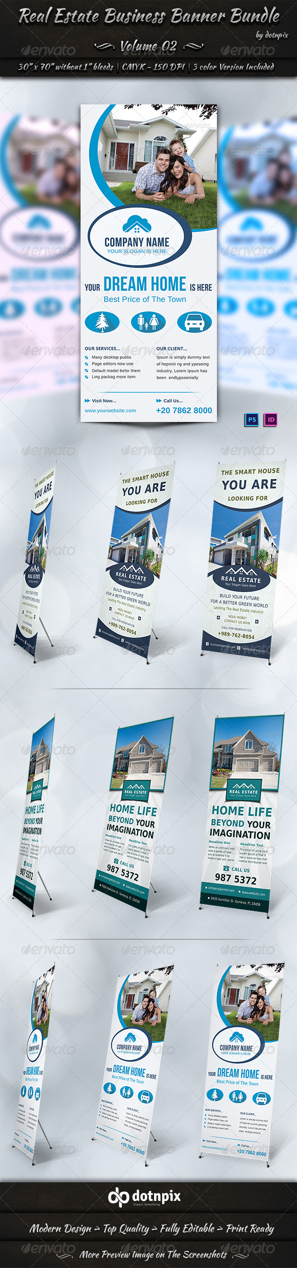 Real Estate Business Banner Bundle Volume 2