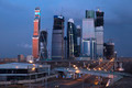 Moscow Russia City Complex Night View - PhotoDune Item for Sale