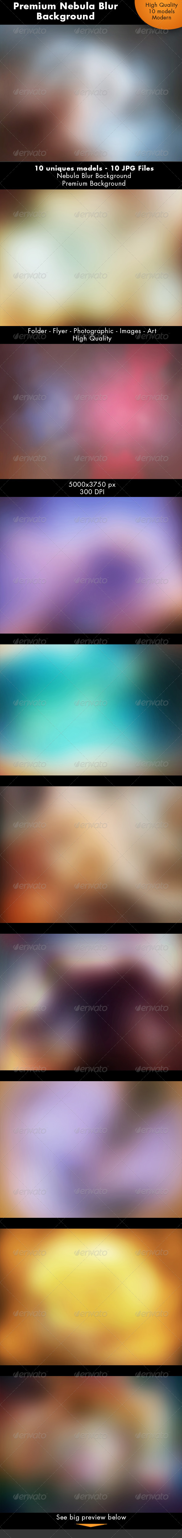 Nebula Blur Background - Abstract Backgrounds
