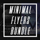 Minimal Flyer Bundle - GraphicRiver Item for Sale