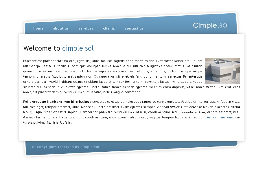 Cimple.sol  - Home Page of Cimple