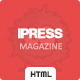 iPress - Responsive News/Magazine/Blog HTML5 - Miscellaneous Site Templates