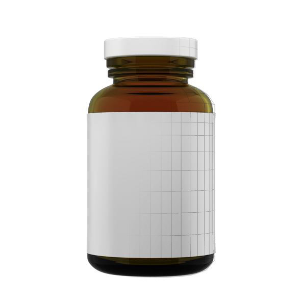 Supplement Bottle - 3DOcean Item for Sale