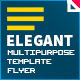 Elegant Multipurpose Flyer Template - GraphicRiver Item for Sale