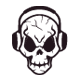 Audio Skull - GraphicRiver Item for Sale