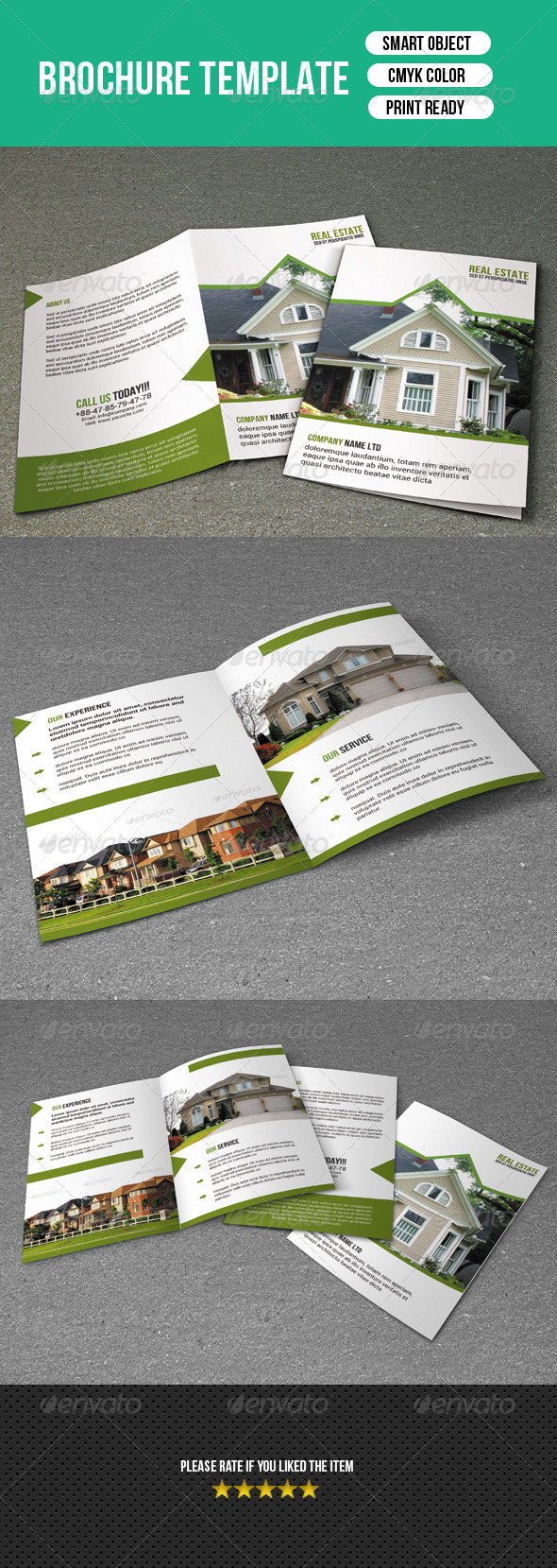 Bifold Brochure-Real Estate