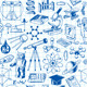 Science and Education Seamless Pattern - GraphicRiver Item for Sale