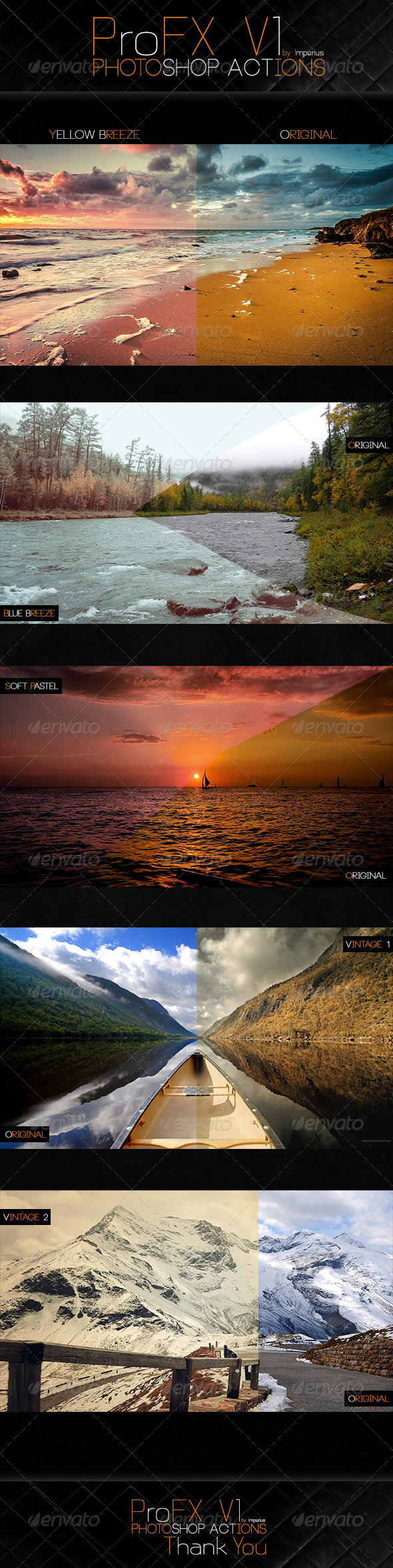 ProFX V1 Actions - Photo Effects Actions