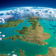 Fragments of the planet Earth. United Kingdom and Ireland - PhotoDune Item for Sale