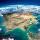 Fragments of the planet Earth. Spain and Portugal - PhotoDune Item for Sale
