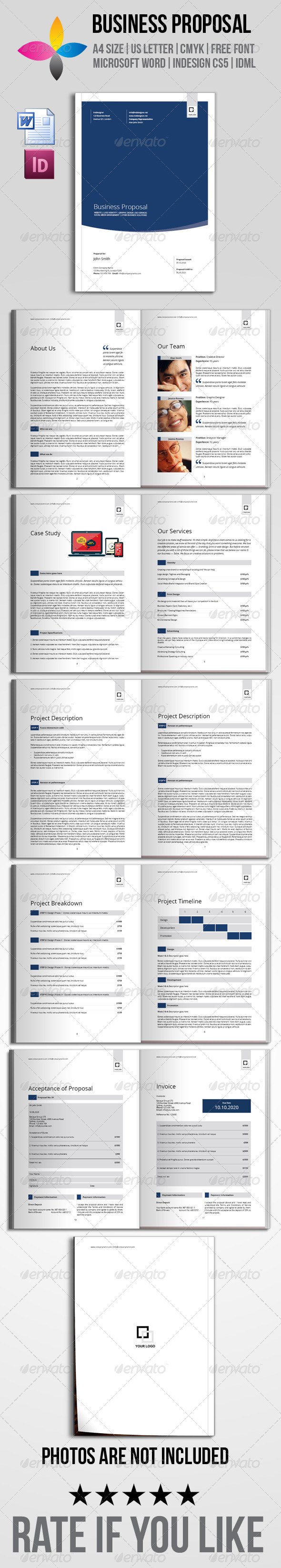 Business Proposal - Proposals & Invoices Stationery