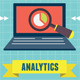 Concept of Analytics Social Media Information - GraphicRiver Item for Sale