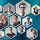 Hexagon Facebook Timelines Covers - GraphicRiver Item for Sale
