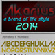 Akarius Font - GraphicRiver Item for Sale