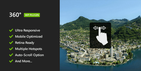 360° Panoramic Viewer - WordPress Plugin - CodeCanyon Item for Sale