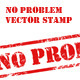 No Problem Stamp - GraphicRiver Item for Sale