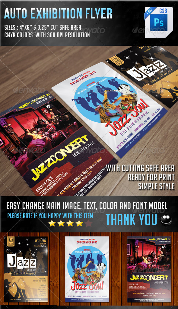 Jazz Concert Flyer Bundle - Concerts Events
