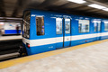 Montreal Metro Train with Motion Blur - PhotoDune Item for Sale