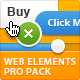 Professional Web Elements Pack - GraphicRiver Item for Sale