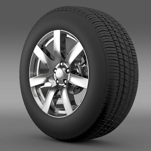 Jeep Wrangler Indian Summer 2014 wheel - 3DOcean Item for Sale