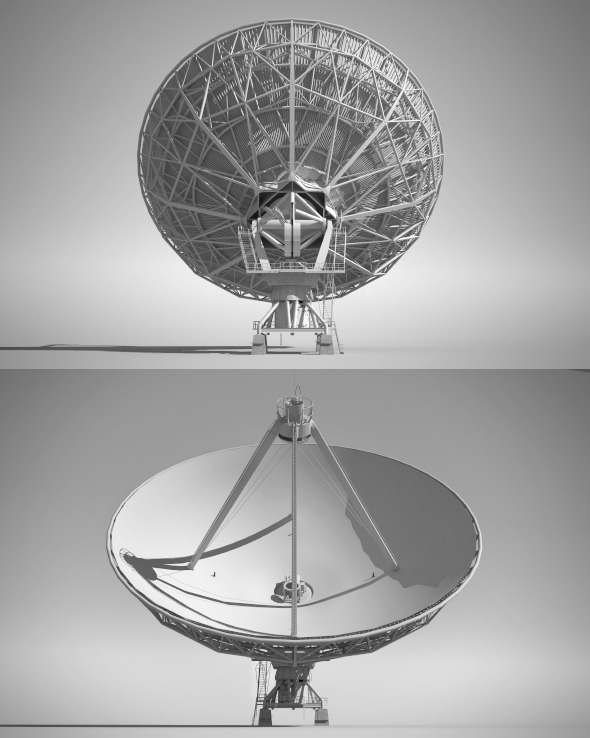 High Detailed Radio Telescope