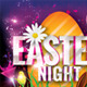 Easter Night Party Flyer Template - GraphicRiver Item for Sale