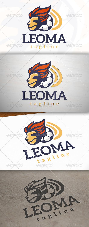 Football Mascot Logo