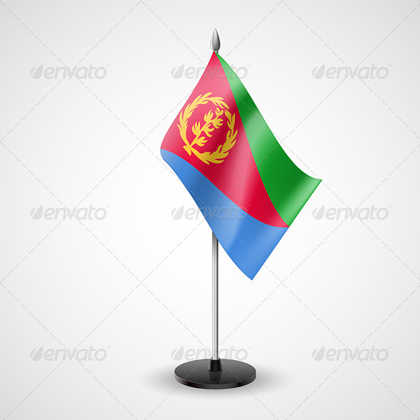 Table Flag of Eritrea