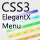 CSS3 ElegantX Menu