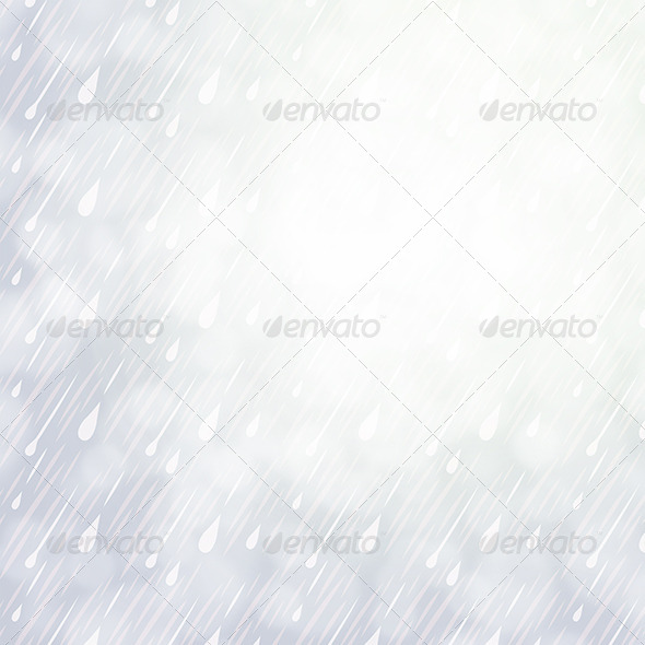 Overcast Rainy Day Background