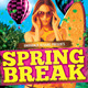 Spring Break Surf Beach Club Party Event - GraphicRiver Item for Sale