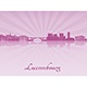 Luxembourg Skyline - GraphicRiver Item for Sale