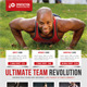 Sport Multipurpose Flyer 17 - GraphicRiver Item for Sale