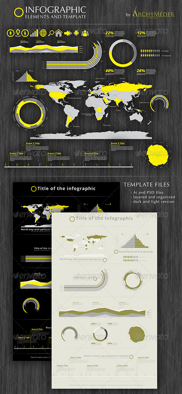 GraphicRiver Infographic Element and Template 7265725