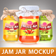 Jam Jar Mockup - GraphicRiver Item for Sale