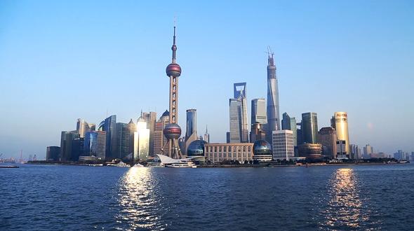 Shanghai City Lujiazui