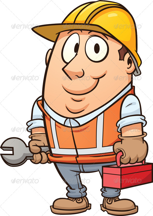 Construction Worker | GraphicRiver