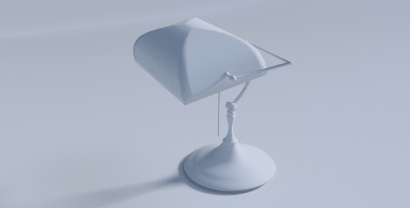 Desk Lamp - 3DOcean Item for Sale