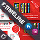 Technology Timeline Templates - GraphicRiver Item for Sale