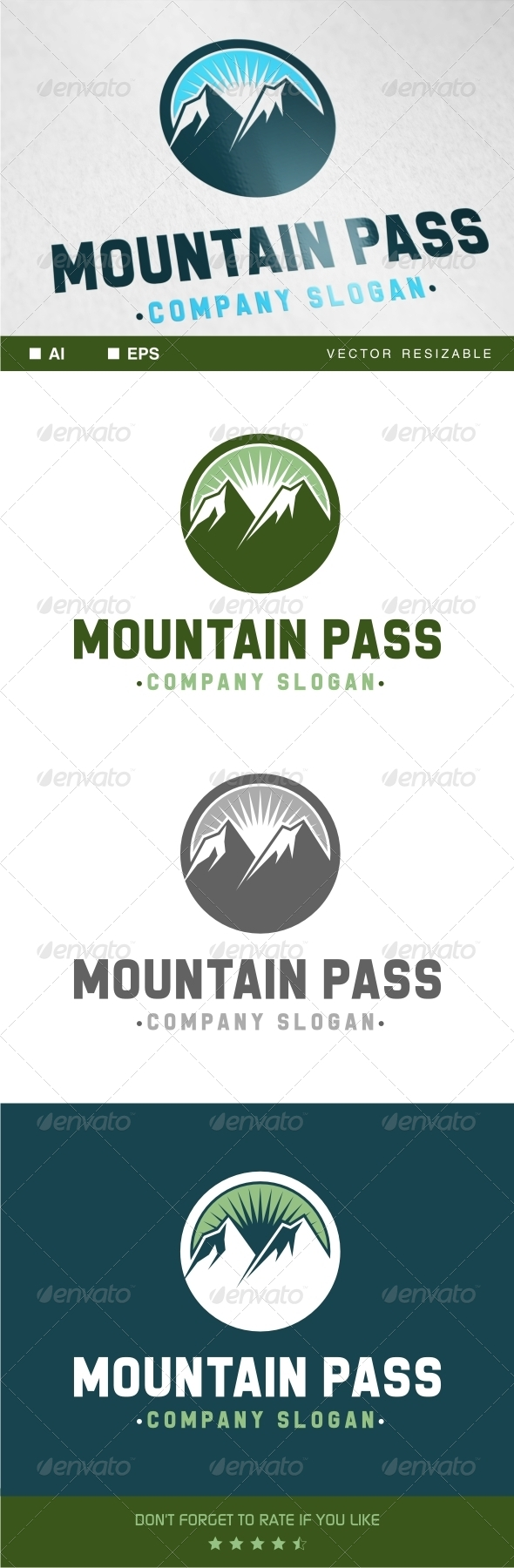 Mountain Pass Logo